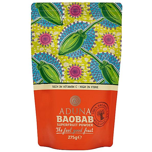 Aduna Baobab Superfruit Powder 275g Vitamine C