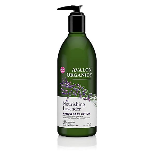 Avalon Organics Hand & Bodylotion - Lavendel rustgevend Lavender