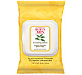 Burt's Bees Facial Cleansing Towelettes (White Tea)