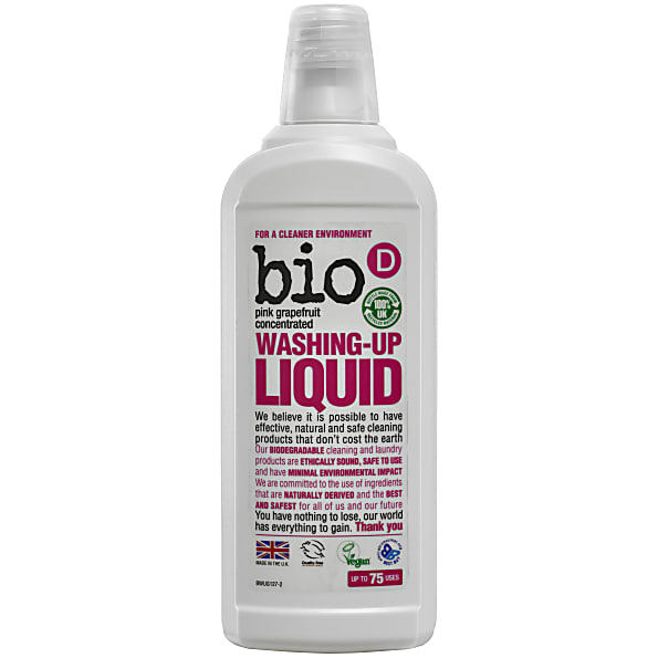 Bio-D Afwasmiddel Grapefruit - 750ml
