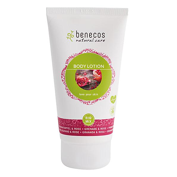 Benecos Bodylotion - Granaatappel & Roos hydraterend