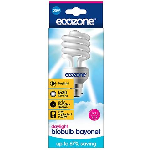 Ecozone Bio Spaarlamp Daglicht 60W