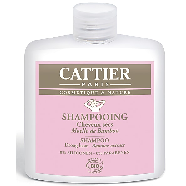 Cattier-Paris Shampoo Droog Haar - Bamboe-Extract