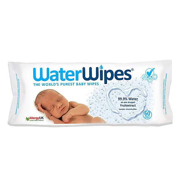 WaterWipes Babydoekjes op waterbasis
