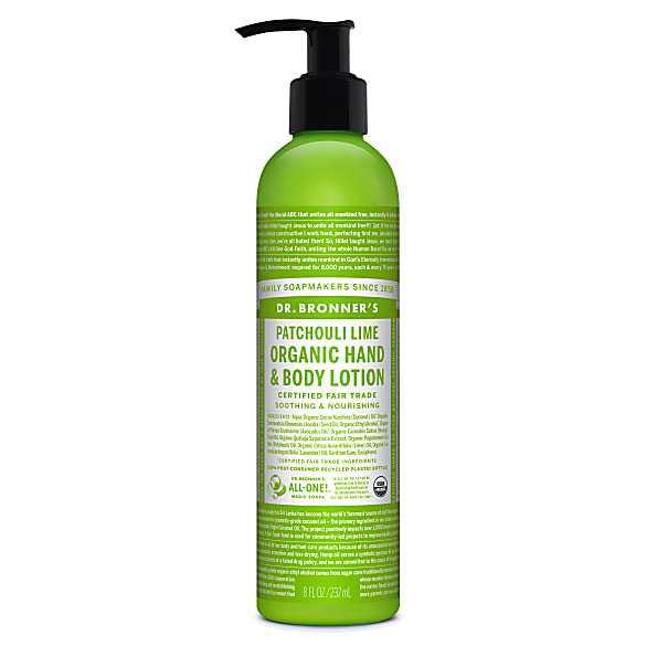 Dr. Bronner's Hand & Bodylotion Patchouli Lime Organic