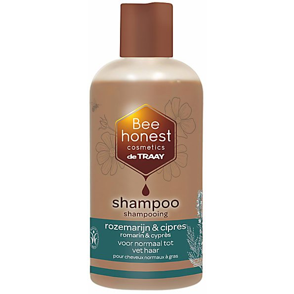 De Traay Shampoo Rozemarijn & Cipers 250ml vet en normaal haar