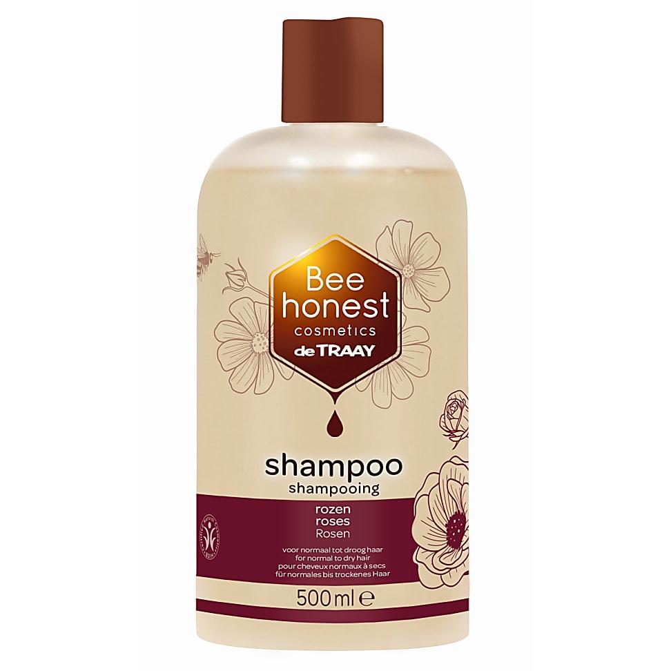 De Traay Shampoo Rozen 500ML droog en normaal