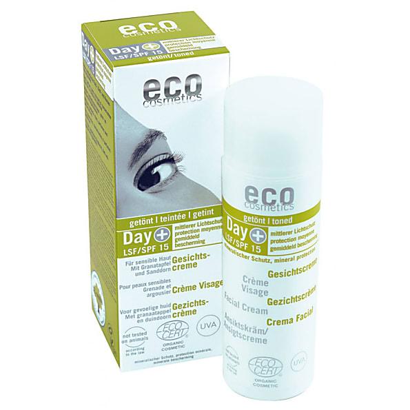 Eco Cosmetics Gezichtcreme Getint SPF 15