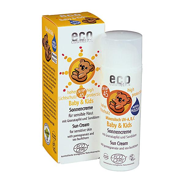 Eco Cosmetics Baby Zonnebrandcreme SPF45