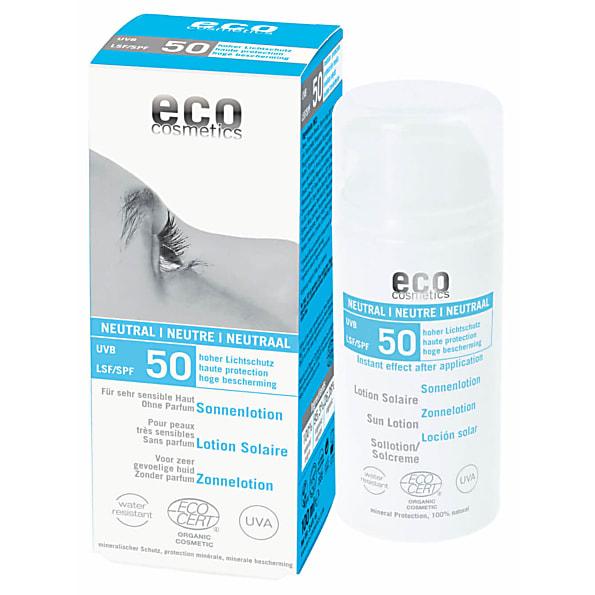 Eco Cosmetics Zonnecreme Zonder Parfum SPF 50