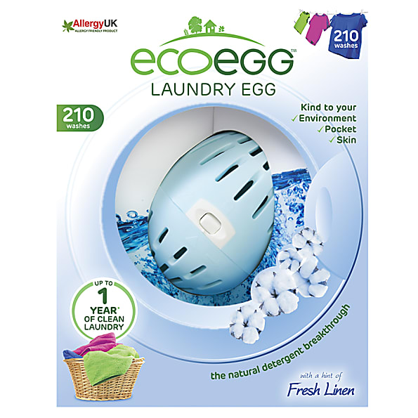 EcoEgg Wasballen - Laundry Egg 210 wasbeurten Soft Cotton