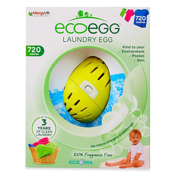Eco Egg Wasballen - Laundry Egg 720 wasbeurten Fragrance Free