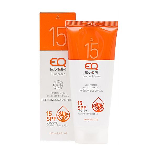 - EQ EVOA Organic Sunscreen SPF15