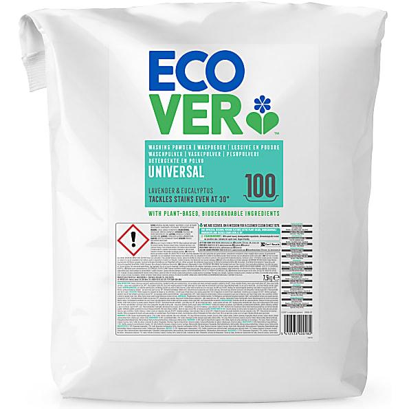 Ecover Waspoeder Universal 7,5KG 100 wasbeurten