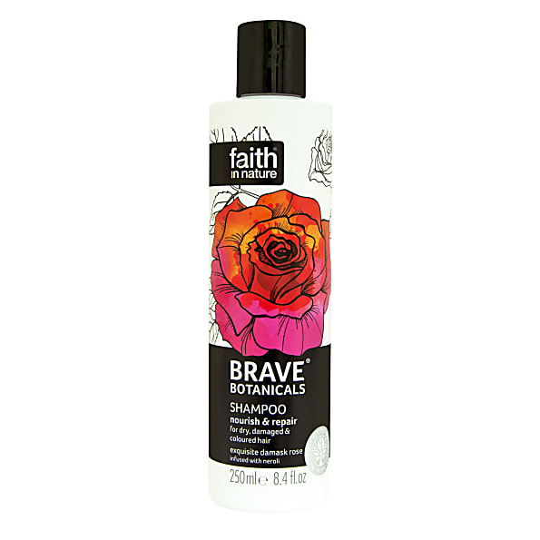 Faith in Nature Brave Botanicals Nourish & Repair Shampoo