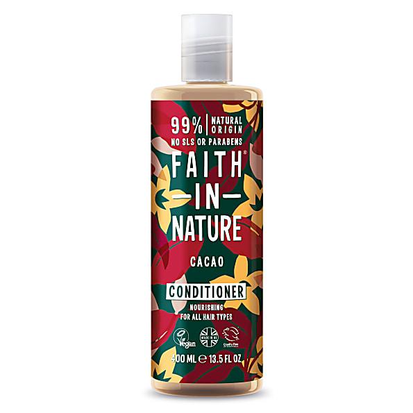 Faith in Nature Chocolate Conditioner voor donker haar