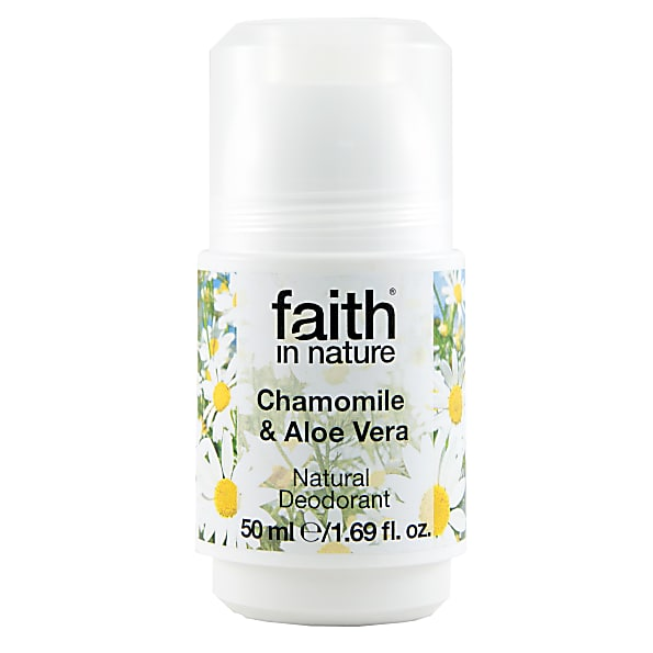 Faith In Nature Aloe Vera & Kamille Roll-On Deodorant