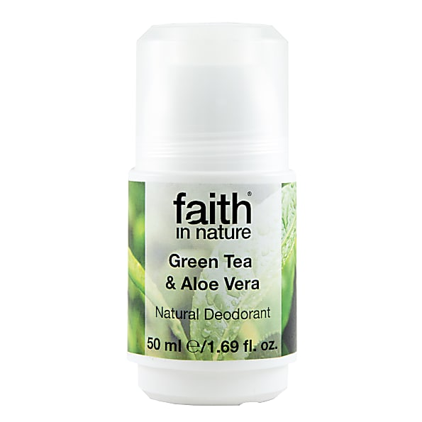 Faith In Nature Aloe Vera & Groene Thee Roll-On Deodorant