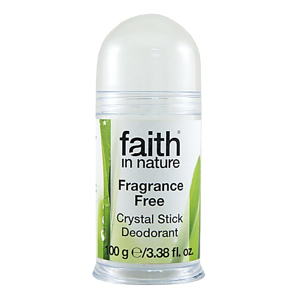 Faith in Nature Crystal Deodorant - Zonder Geurstoffen