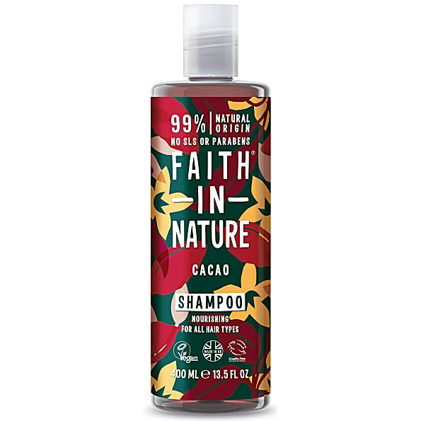 Faith in Nature Chocolate Shampoo voor donker haar