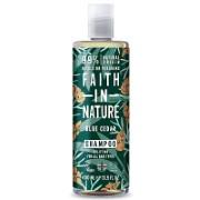 Faith in Nature for Men Blue Cedar Shampoo