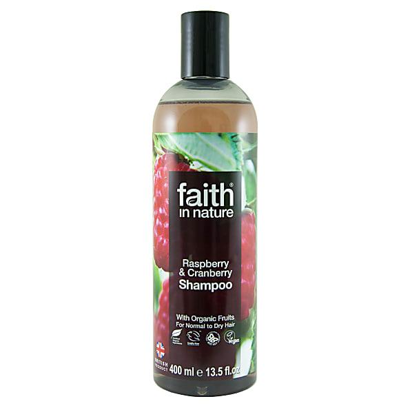 Faith In Nature Framboos & Veenbes Shampoo normaal tot droog haar