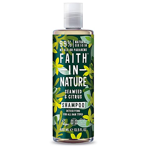 Faith in Nature Zeewier & Citrus Shampoo alle haartypes