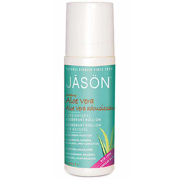 Jason Natural Roll On Deodorant - Aloe Vera