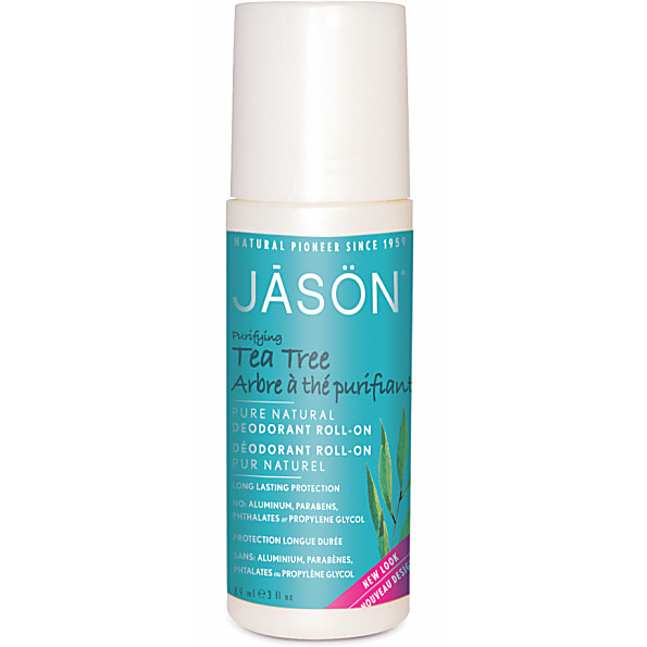 Jason Natural Roll On Deodorant - Tea Tree