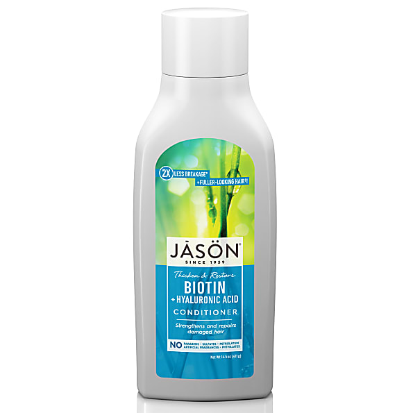 Jason Organic Biotin Conditioner beschadigd haar