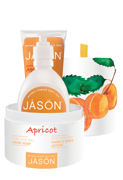 Jason Apricot Cadeau Set