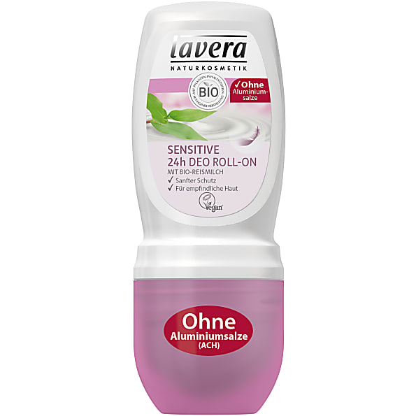 Lavera Sensitive Roll-on Deodorant gevoelige huid