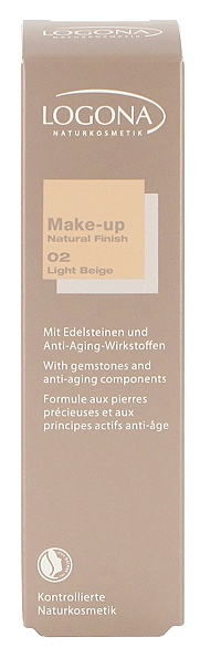 Logona Make-up Natural Finish light beige