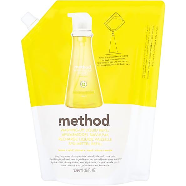 Method Afwas citroen + munt Refill