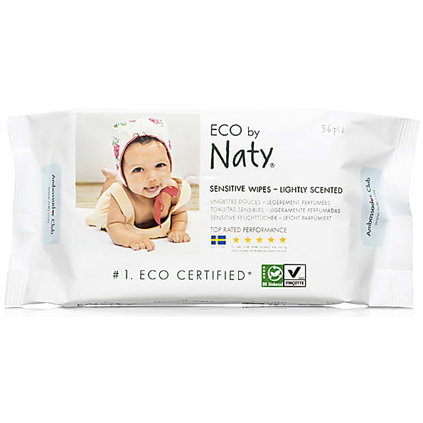 Nature Babycare ECO Sensitive Babydoekjes - Licht geparfumeerd