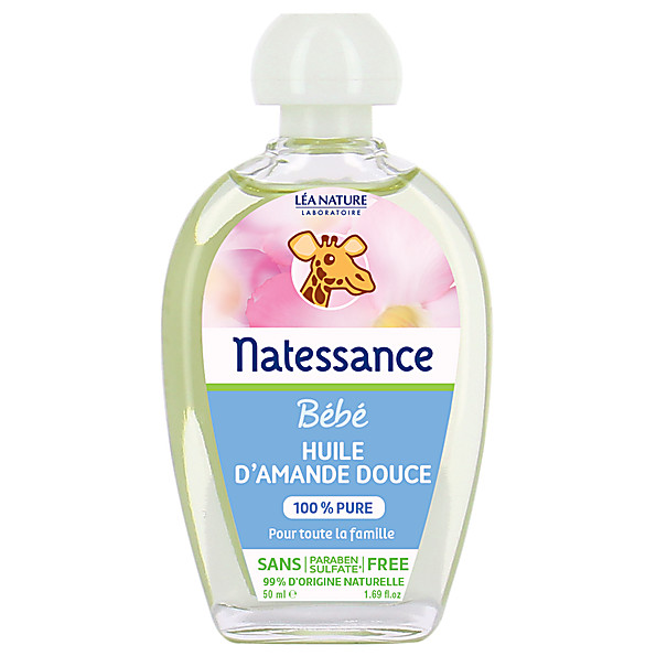 Natessance - Baby Naturel Amandelolie 50ml