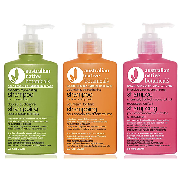 Australian Organics Shampoo alle haartypes Gekleurd/Gepermanent ...