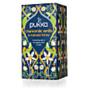 Pukka Chamomile Vanilla & Manuka Honey Thee (20 zakjes)