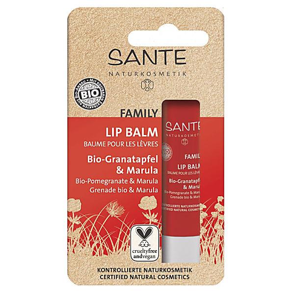 Sante Family Lippenbalsem Bio-Granaatappel-Marula