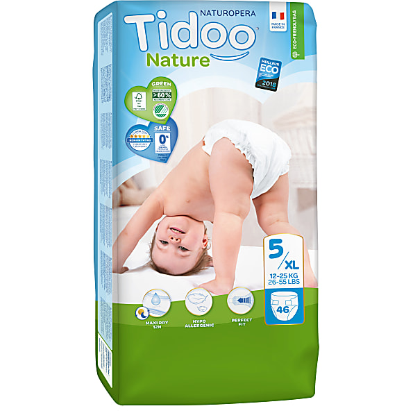 Tidoo Luiers Dag en Nacht maat 5 - Junior 12-25kg