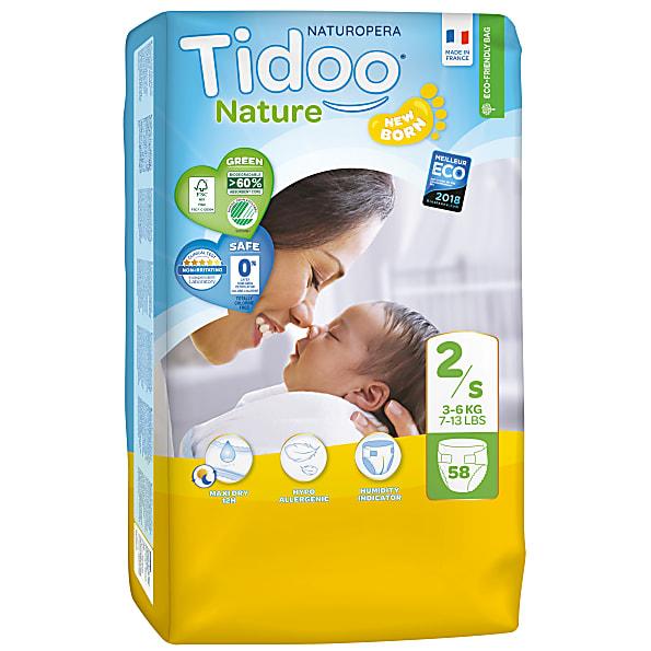 Tidoo Luiers Dag en Nacht Maat 2 - Mini 3-6kg