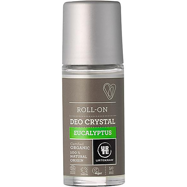 Urtekram Deoroller Eucalyptus Crystal