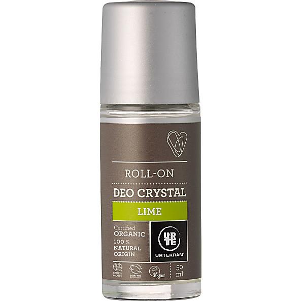 Urtekram Deoroller Lime Crystal