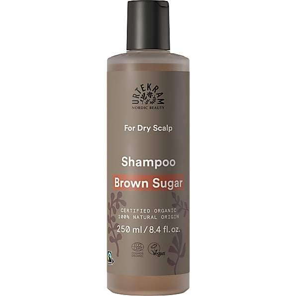 Urtekram Brown Sugar Shampoo droge hoofdhuid 250ml