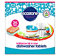 Ecozone Brilliance All In One Vaatwastabletten (25 stuks)