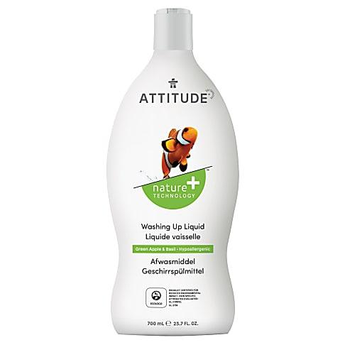 Attitude Vloeibaar Afwasmiddel - Groene Appel & Basilicum