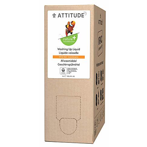 Attitude Vloeibaar Afwasmiddel - Zeste van Citrus 4L