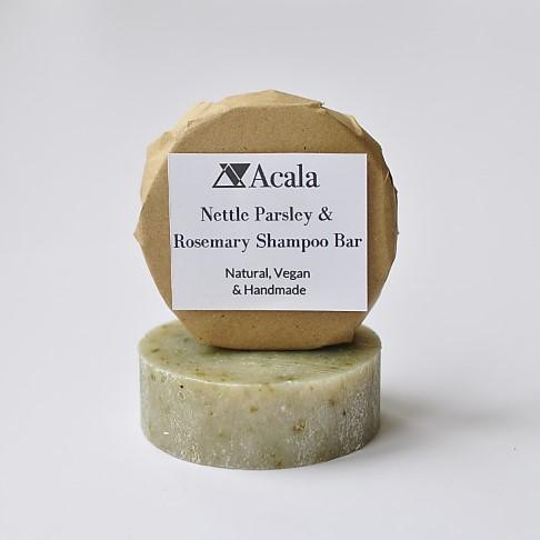 Acala Shampoo Bar Brandnetelpeterselie en Rozemarijn