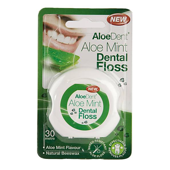 Cruydhof Aloe Vera Dental Floss 30mtr
