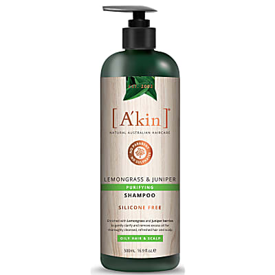 A'kin Lemongrass Natural Shampoo (500ml)